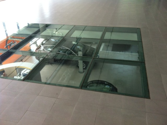 ... Of Tempered Glass And Placed On Existing Floors, Eg Wooden Floors. Such  Solution Protects Original Floor Against Damaging , At The Same Saving Its  Look.
