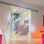 drzwi przesuwne ze szkła