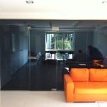 ścianki działowe ze szkła